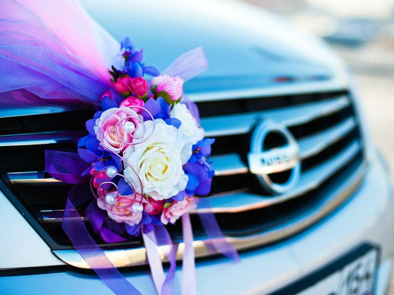 Новому году, свадебные букеты на авто