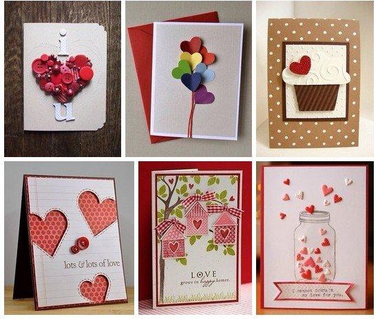 Открытки любимого своими руками, открытки