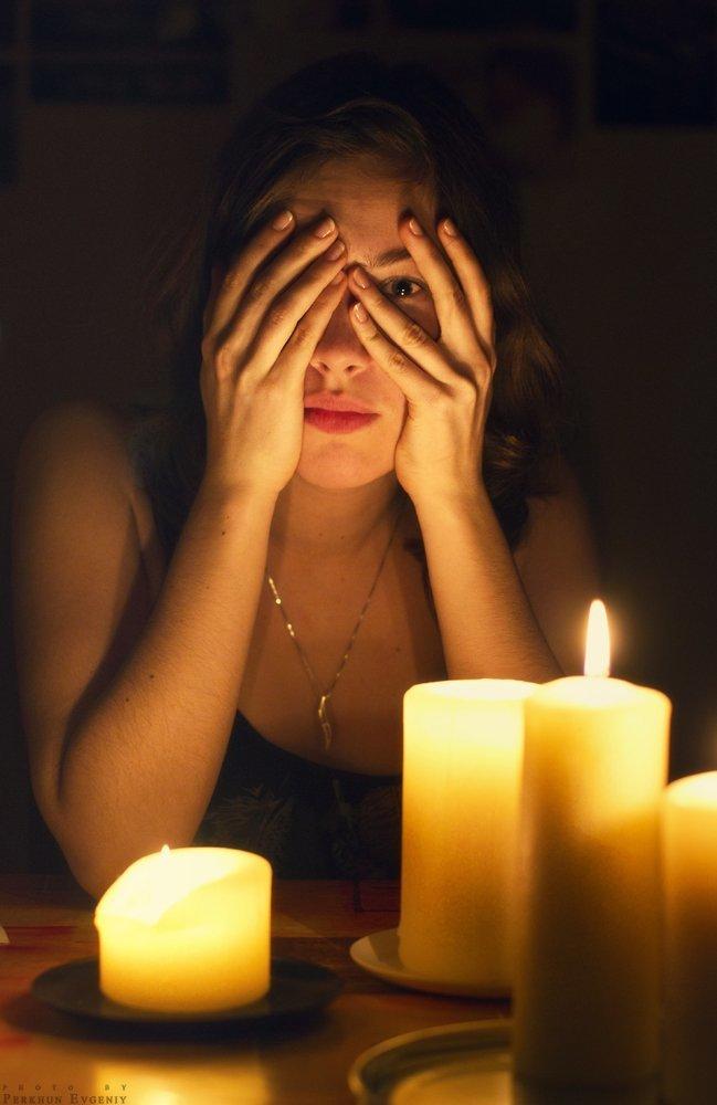 как фотографировать при свете свечи объем работ большой