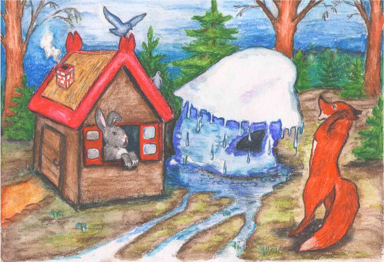 картинки к сказке лиса и заяц избушки произ-ва широко используются