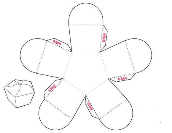 Схемы коробочек / коробочка своими руками схема 666