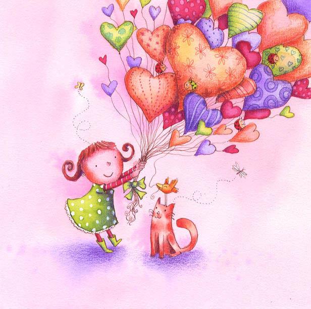 Гифка пушистый, поздравительные открытки в рисунках