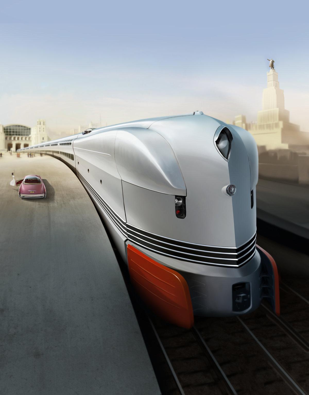 Картинки железные дороги будущего