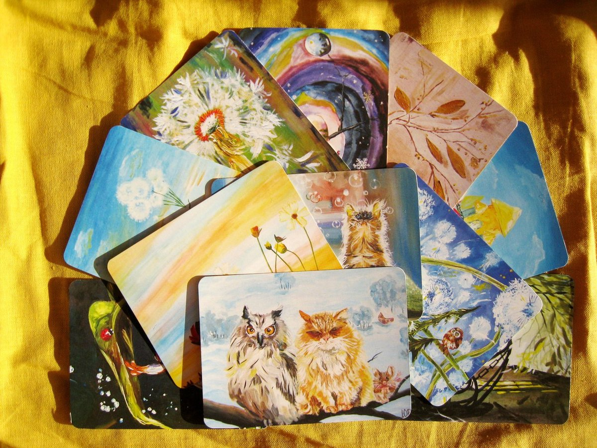 Коллекционирование иллюстрированных открыток
