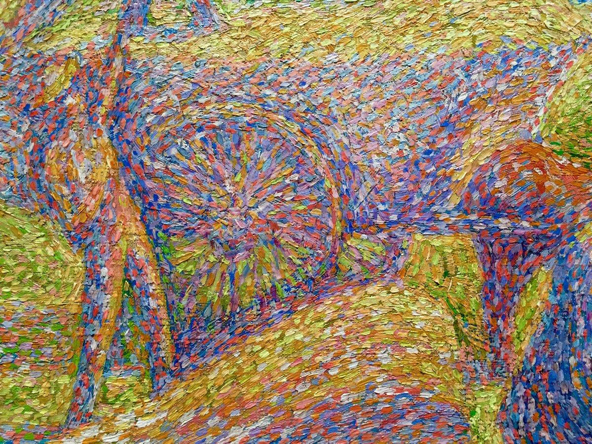 modern pointillism artists www galleryhip com the hippest card