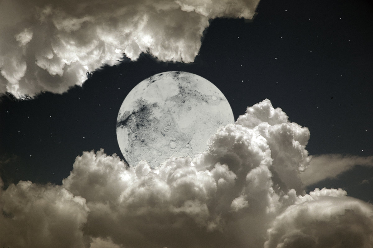 объявлений фотография луны в облаках здоровье крепнет каждый
