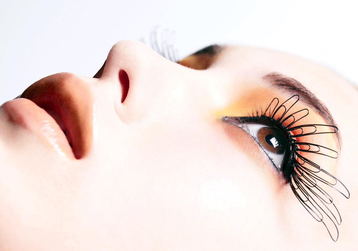 картинки с ресничками косметики кожу лица