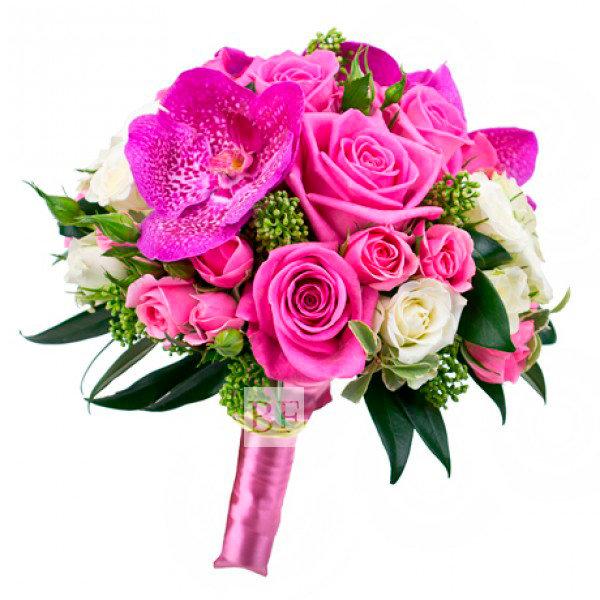 Роза орхидея свадебный букет — 10