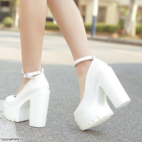 dfa5a37d8 Белые туфли на платформе » — карточка пользователя irinaz7131 в ...
