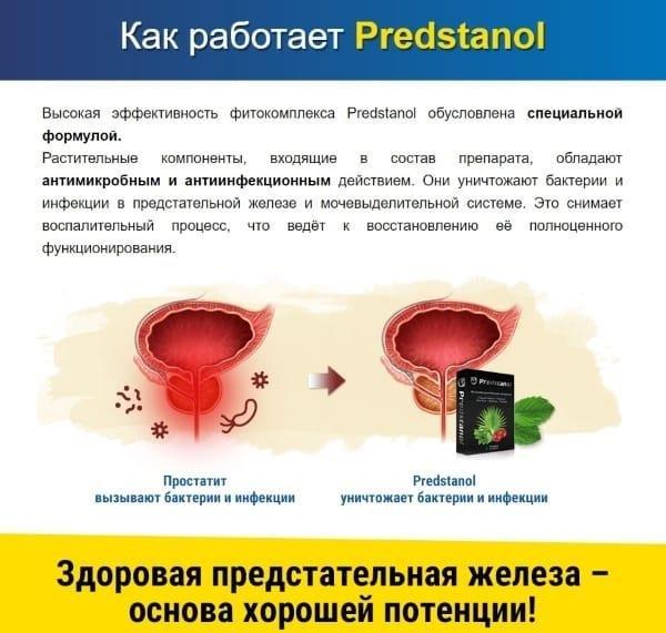 Предстанол (Predstanol) от простатита