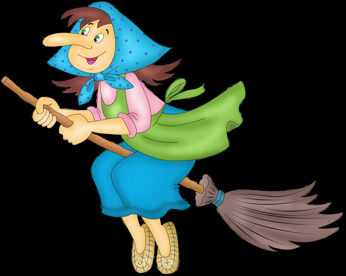 Картинка бабы яги для детей