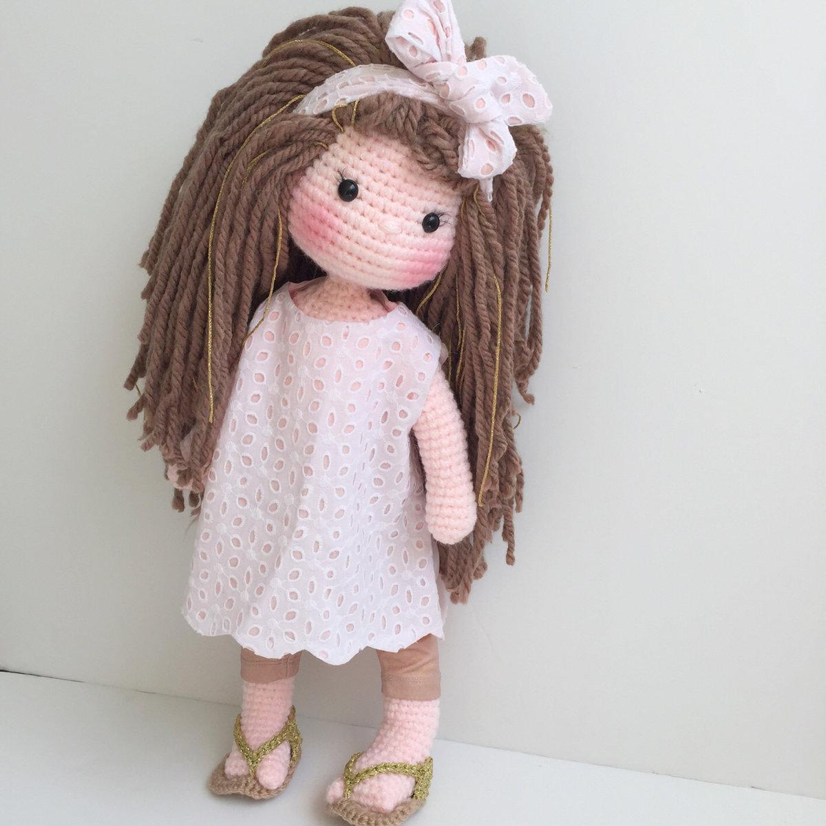 Вязание крючком куклы с картинками дочь