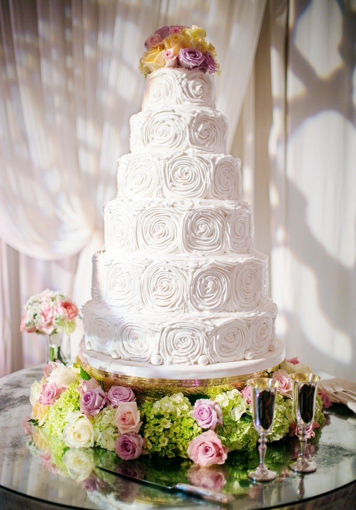 Свадебный торт по фото сторон