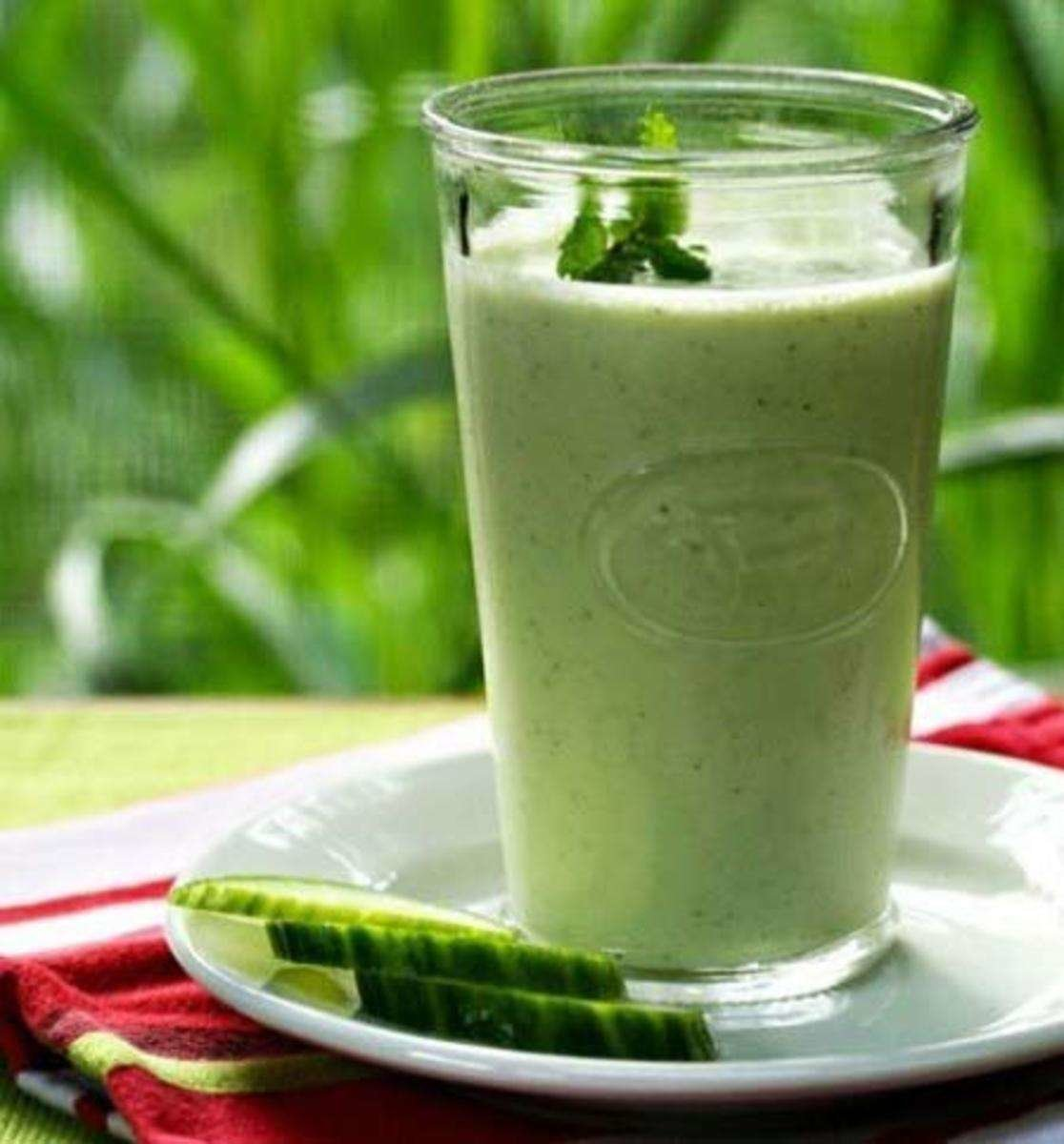 диета на айране и огурцах