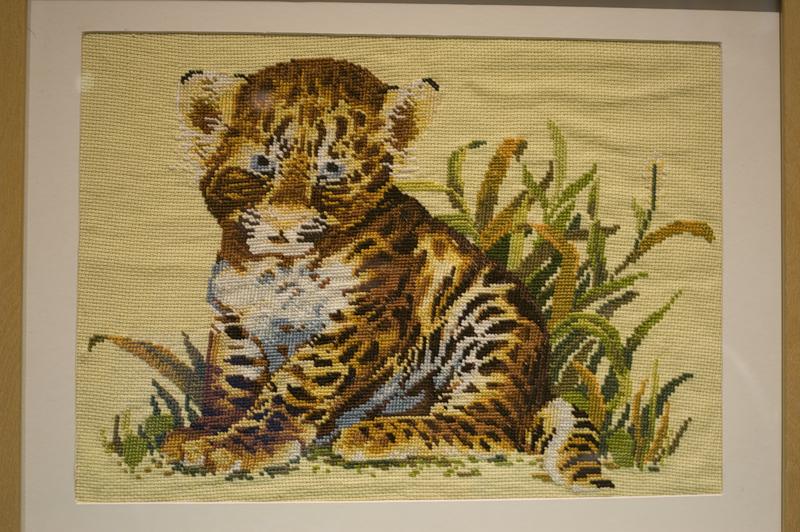 Картинки тигрята вышивки