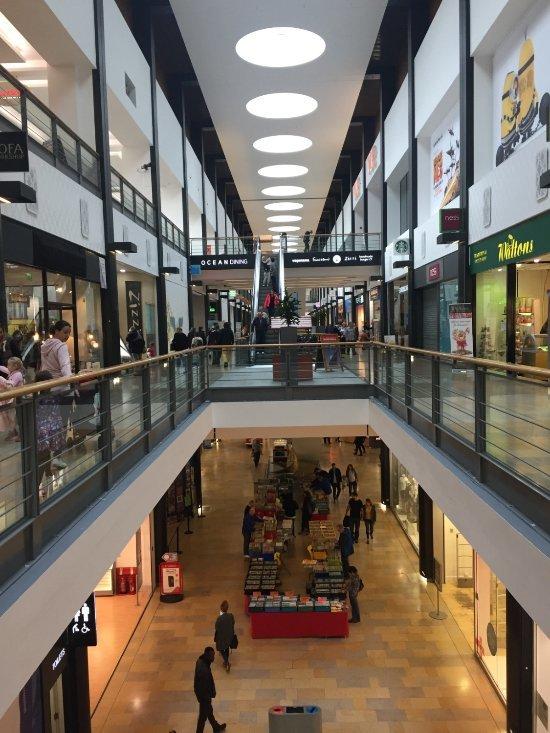 Торговый центр  Ocean Terminal, Эдинбург - интерьер