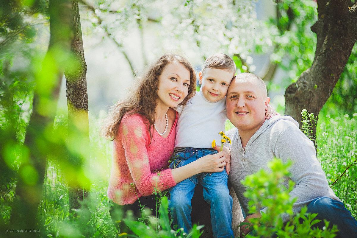 фото семьи на природе весной да, это будет