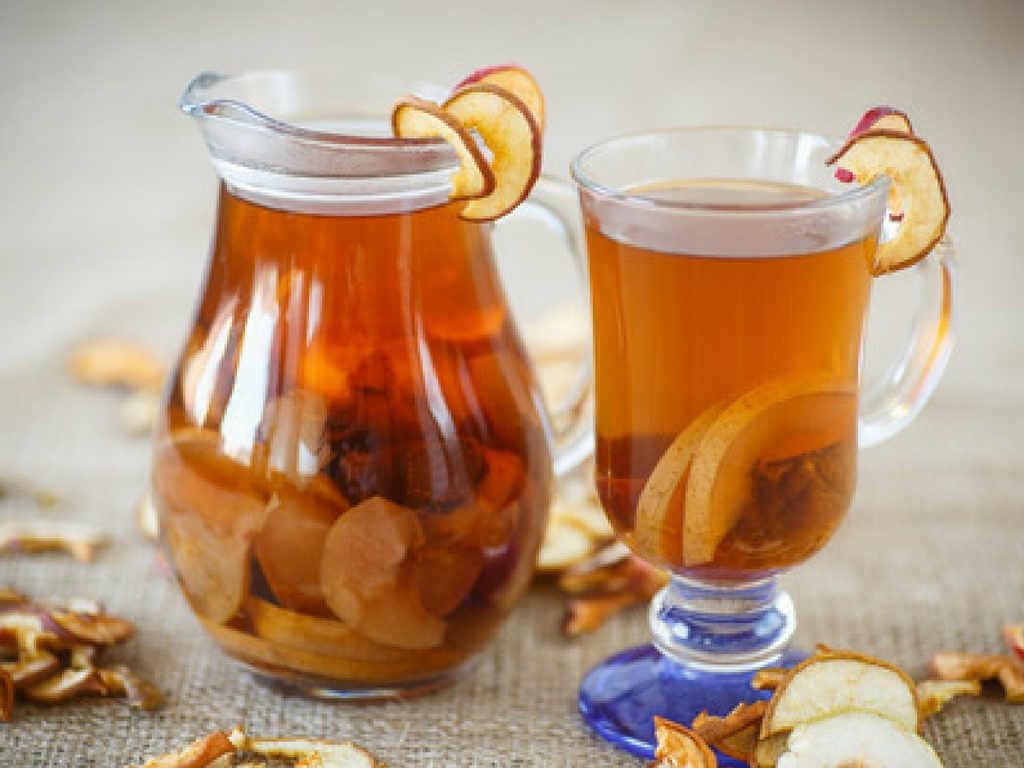 Компот из сухофруктов яблок рецепт