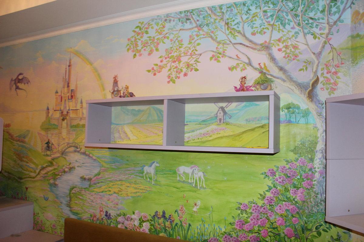 Картинки для росписи стен в детских