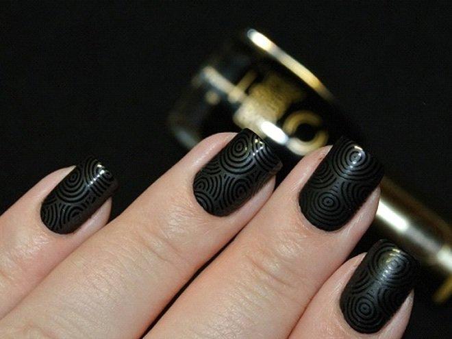 Черный глянцевый лак