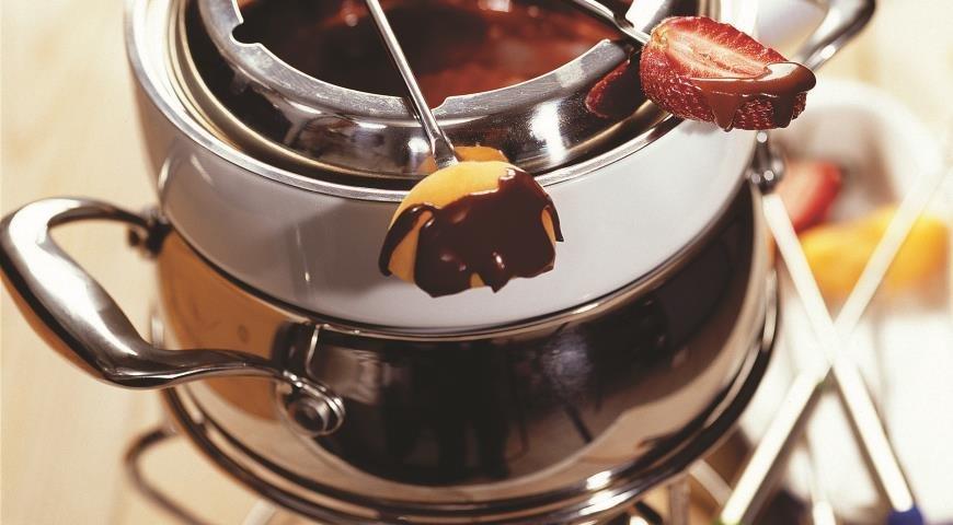 шоколадное фондю рецепты с фото-хв4