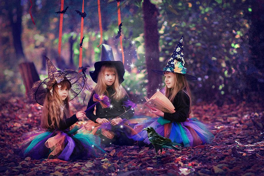 Картинки ведьмочка маленькая