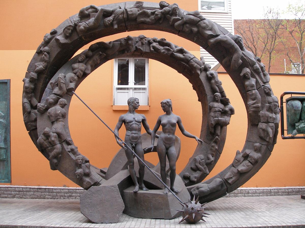 нас скульптурные композиции фото электростанции