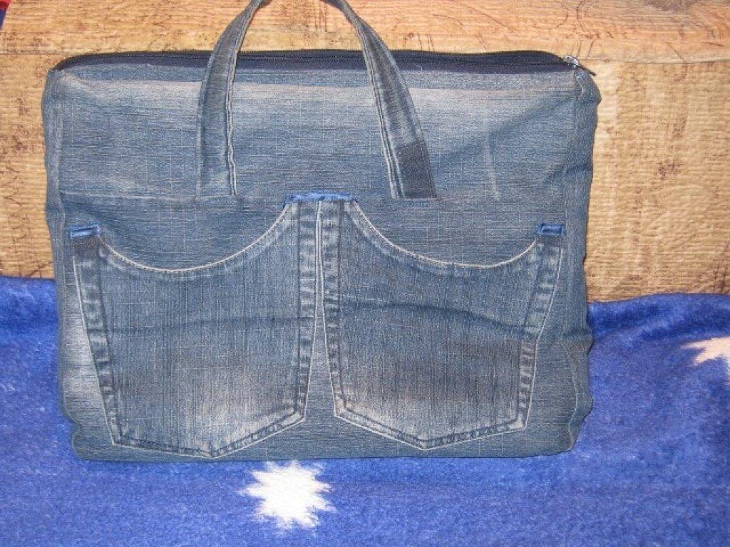 0cc51319933b ... практично чехол-сумка для ноутбука своими руками из джинсов, практично