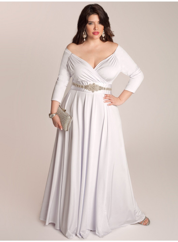plus size wedding dresses - 700×955
