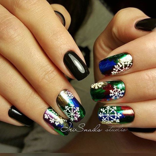 Очень красивый дизайн ногтей-163 фото -Фото дизайна ногтей 81