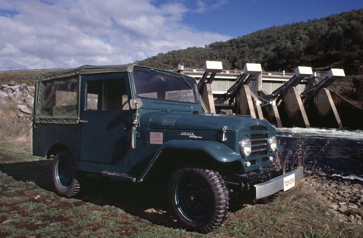 1951 Toyota Land Cruiser Jeep BJ Drugie