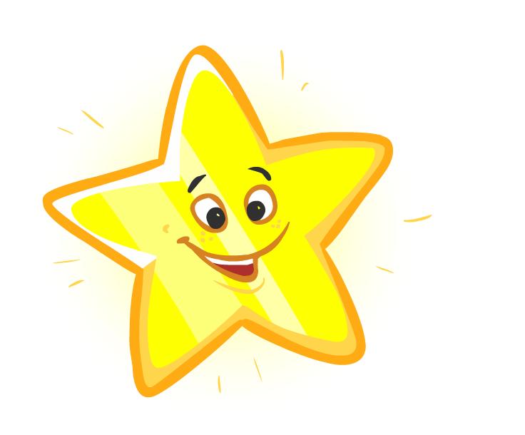 Звезда картинки мультяшные