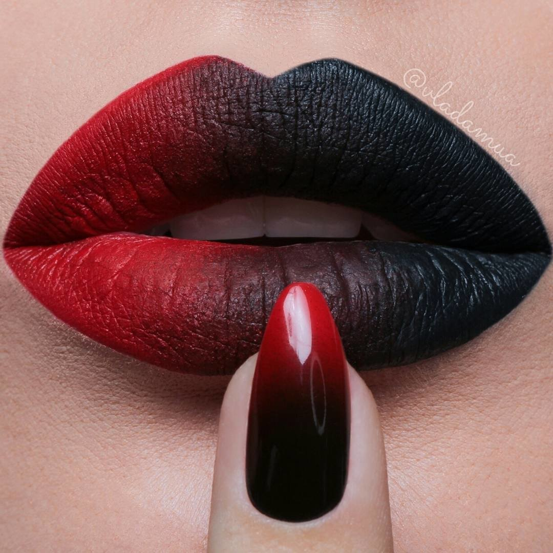 nails and lipstick tumblr - HD 1080×1080