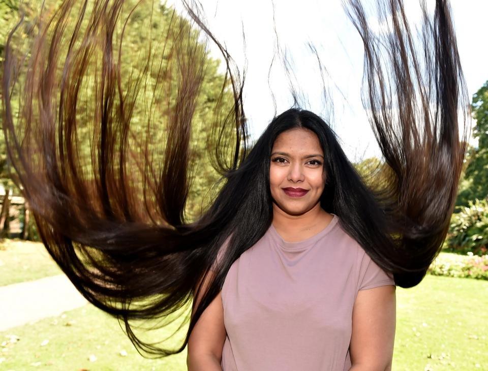 Картинки самые большие волосы