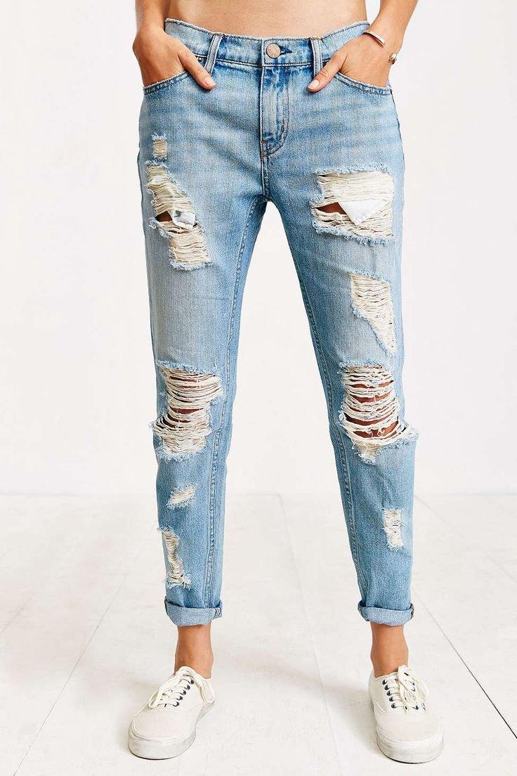 джинсы бойфренды купить