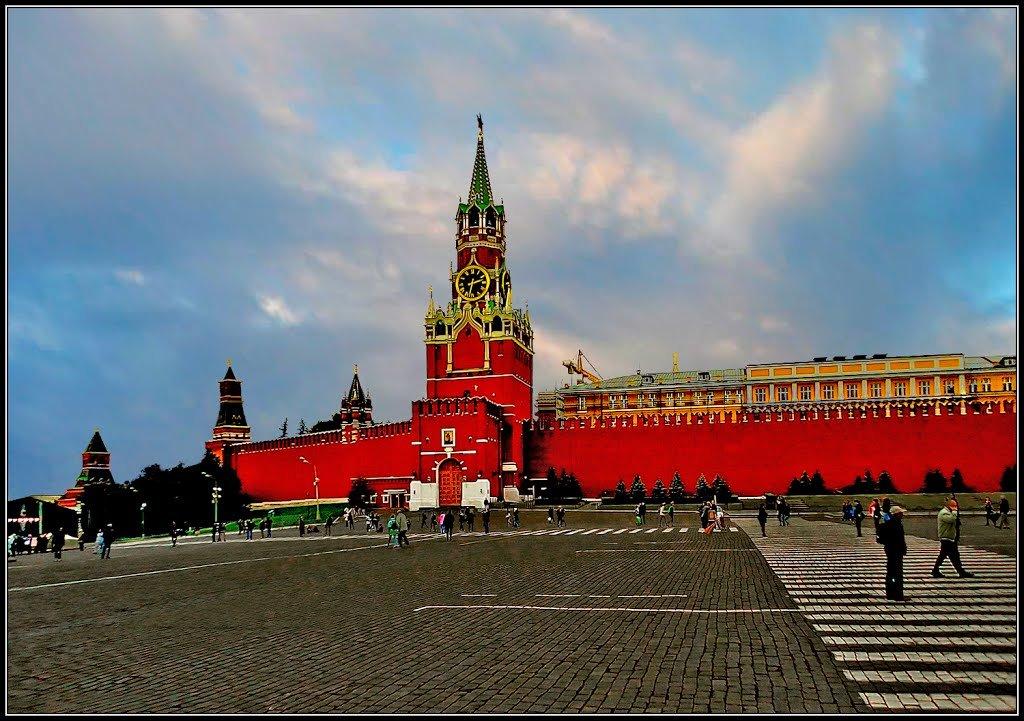вниманию виды кремля и красной площади картинки неуклонно растущей популярности