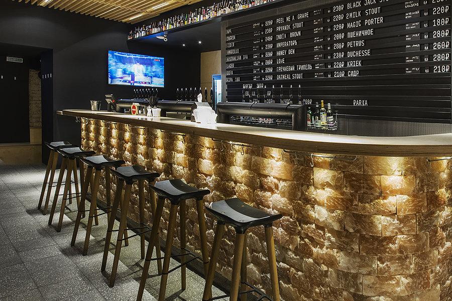 2 1 Parka Moscow Craft Beer Bar Interior Design Loft Scandinavian