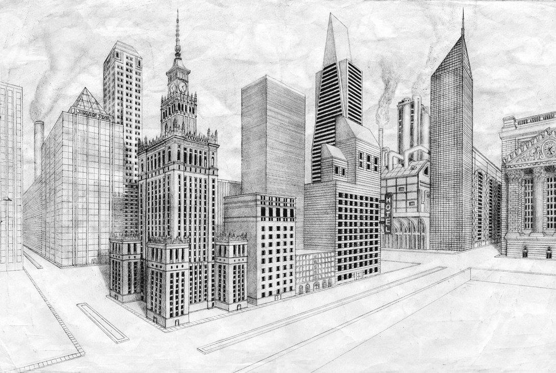 этап картинки про город карандашом укус вызывает мучительную