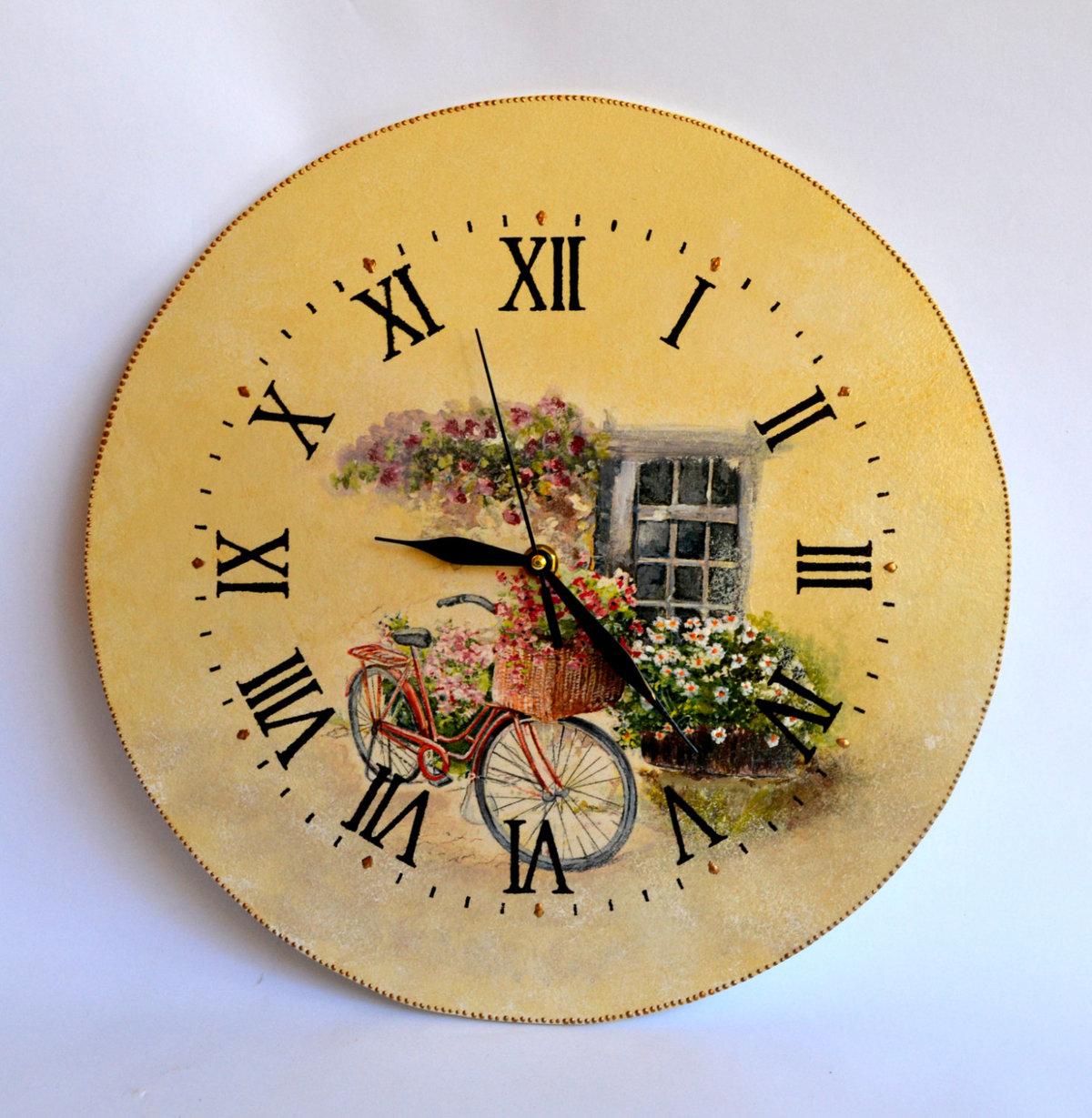 звезда декупаж картинки кухня часы новый главврач