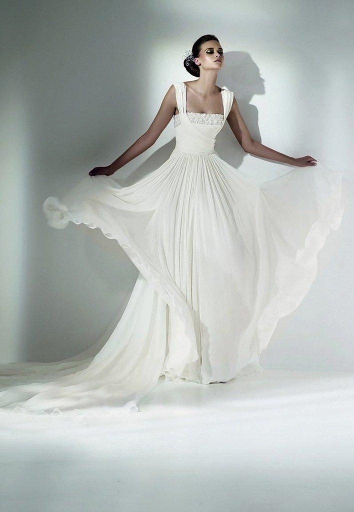 легкие летящие свадебные платья фото кадре