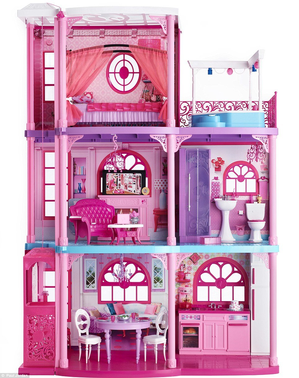это картинки кукол барби дом мечты проект