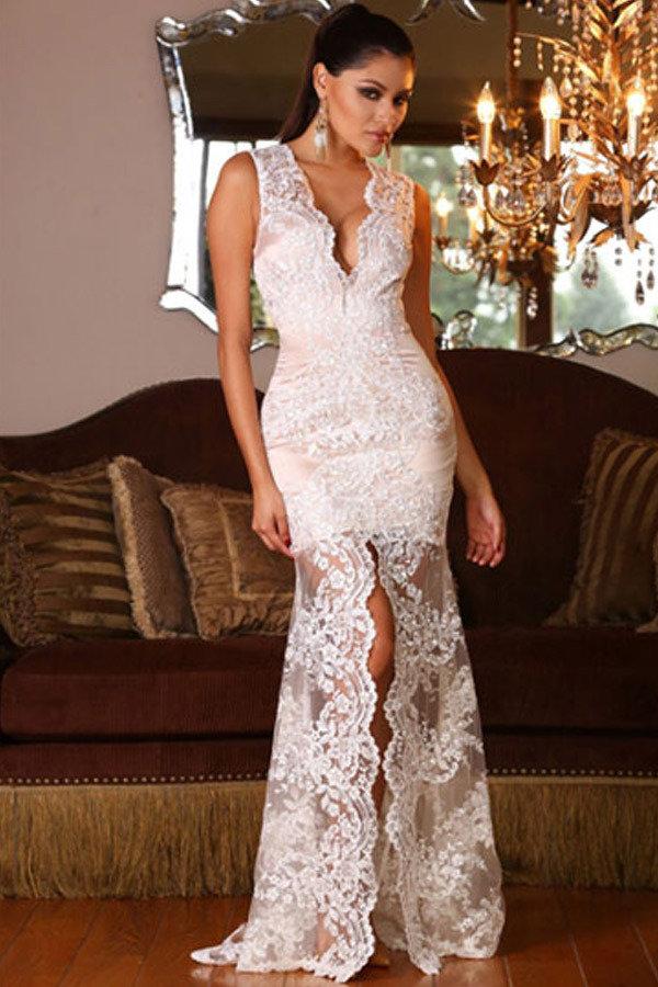 картинка вечернего платья гипюровые