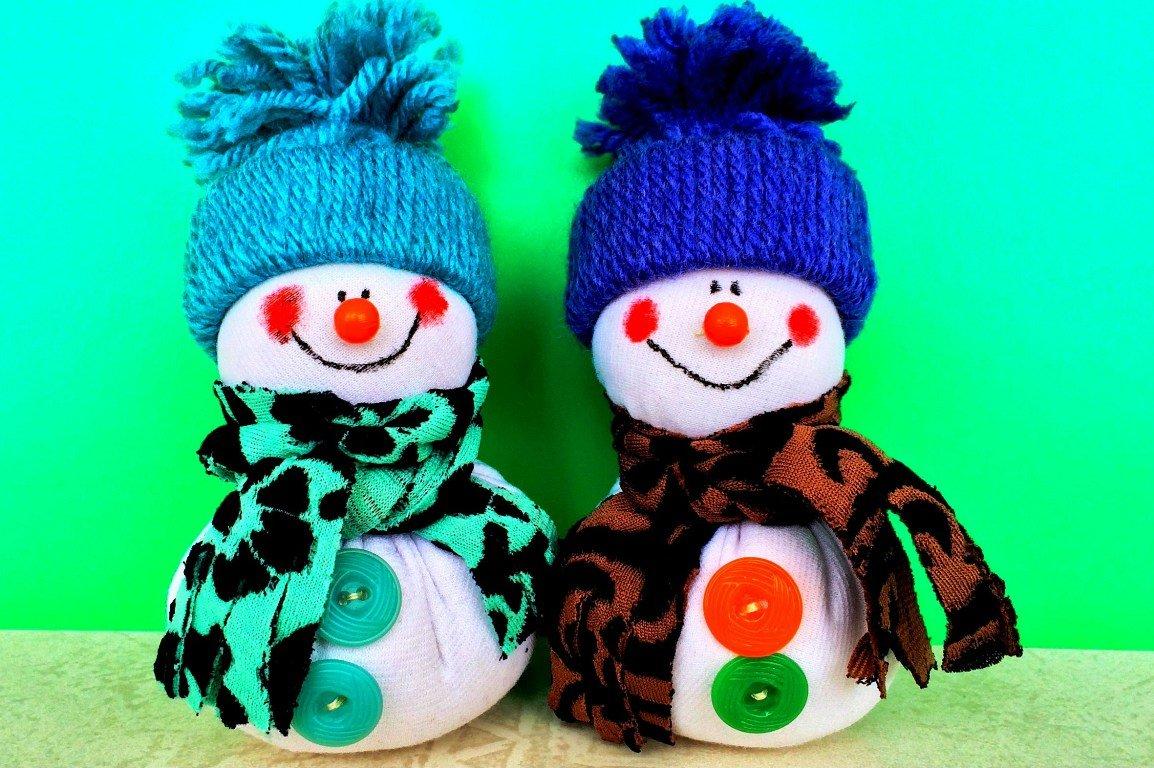 Оригинальные снеговики своими руками фото 725