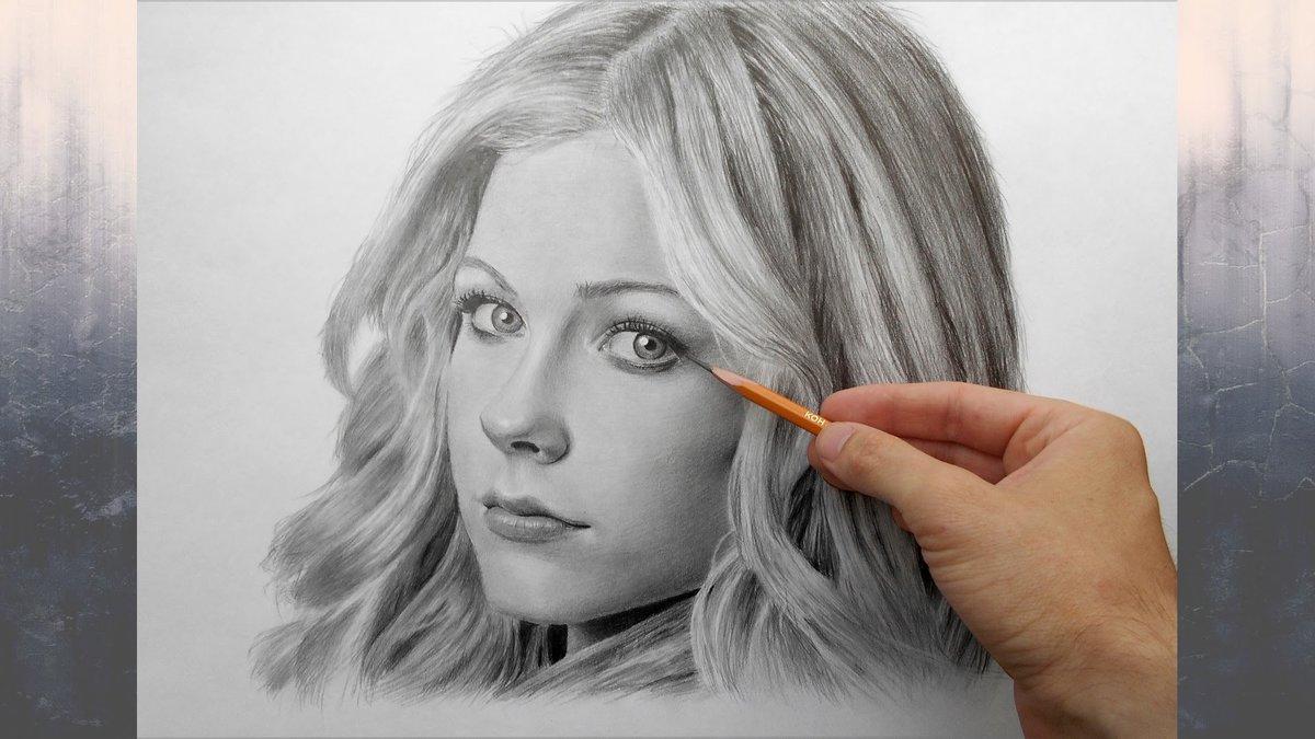 фото портрет рисовать карандашом