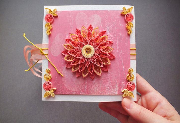 Юбилеем женщине, открытки с днем рождения женщине своими руками цветок