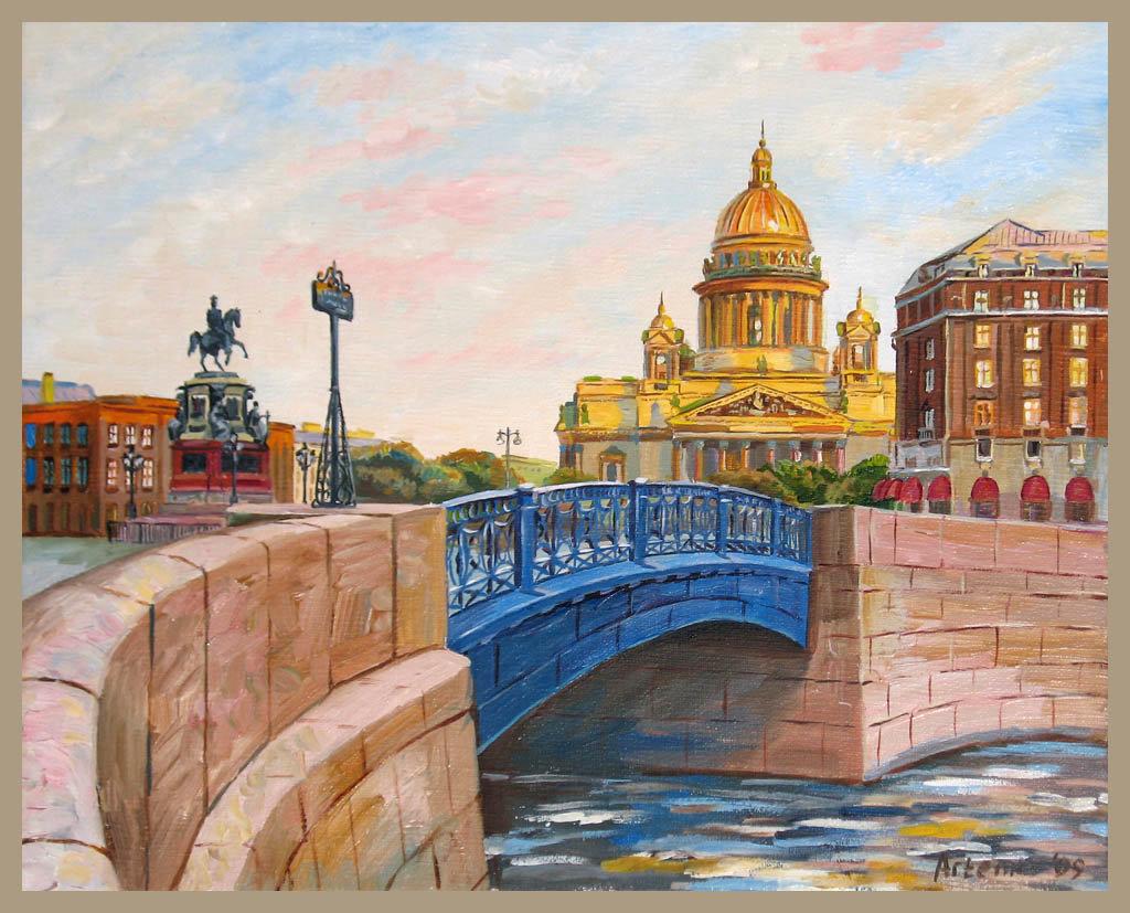 Нарисовать санкт петербург картинки