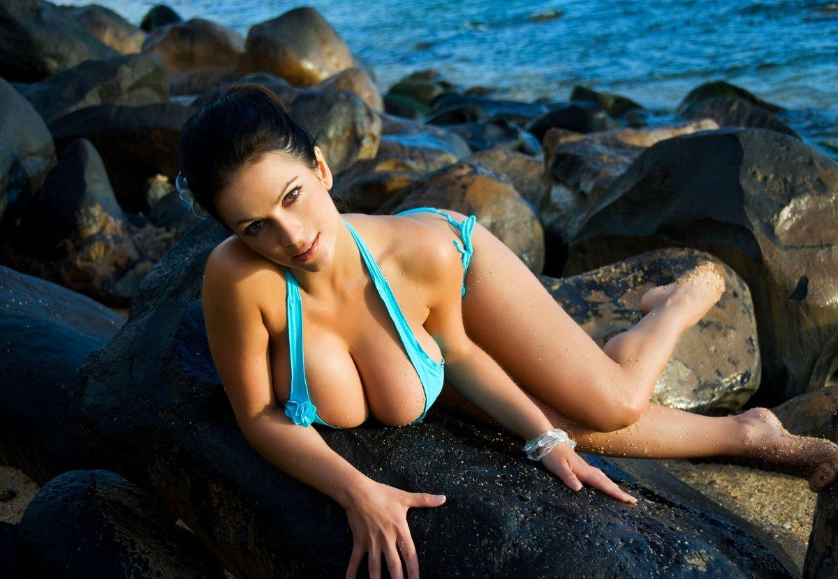 Girls topless swimsuit
