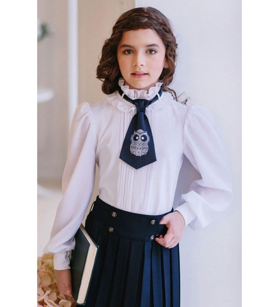 Блузка С Галстуком
