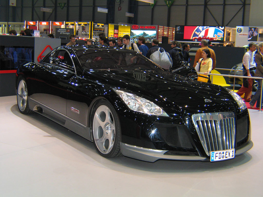 """maybach exelero tuning candy"""" — card from user sms.kazanova in"""