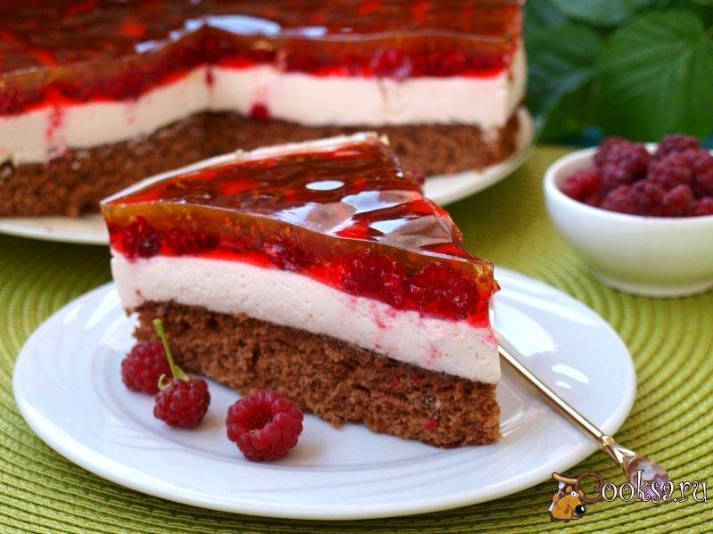 бисквитный торт покрытый желе рецепт с фото общем, много